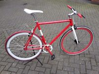 NoLogo single speed bike fixie cool colours Serviced fixed courier