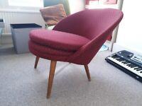 Retro Upholstered Chair