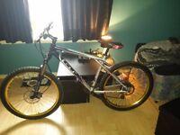 "GT aggressor xc3 18"" 24 spd mountain bike"