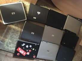 10 x LAPTOP-UNTESTED-GOOD FOR PART
