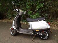 Piaggio vespa lx50 for sale.