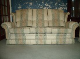 3 Piece Settee and chairs