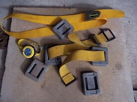 Scuba divers 2 belts and several weights