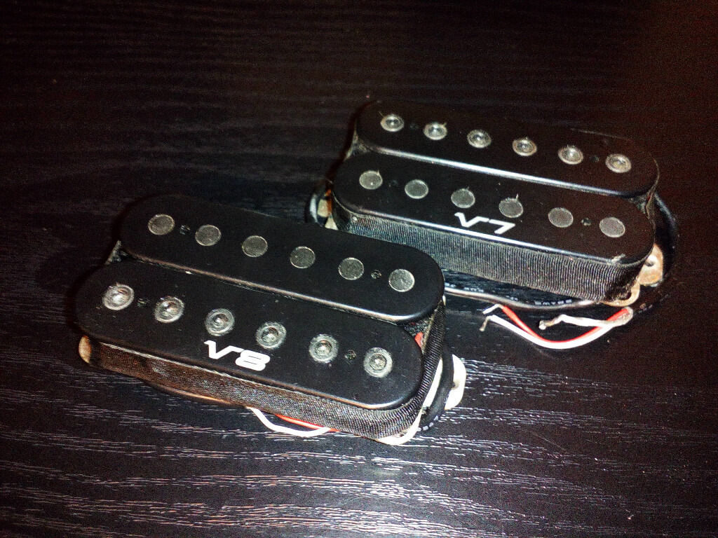Ibanez V7V8 humbucking pickupsin Lewisham, LondonGumtree - Ibanez V7 & V8 humbucking pickups taken from an Ibanez Prestige guitar. Good cable length. Fully working. £20 each or both for £35. Call 07942 eight six six one five one