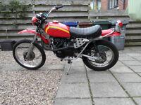 Honda SL350 K0 1970 Trail Scrambler Project UK Bike Long MOT