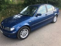 2002 BMW 318 4 DOOR * AIR CON WORKS LOVELY !! * LONG MOT * DRIVES LOVELY TOO
