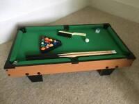 Mini Pool Table (Tiger Billardbord)
