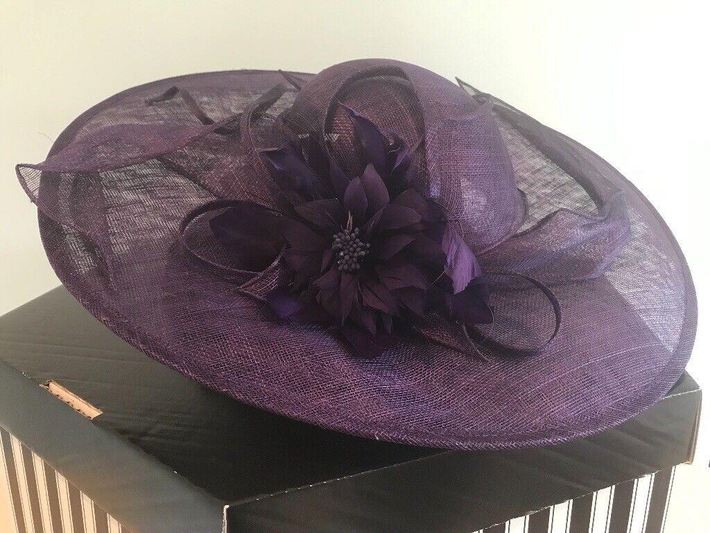 4c06d18875321 New lower price! Fabulous statement hat in purple