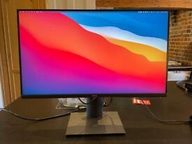 Dell P2720DC Quad HD USB C Screen - As New Condition