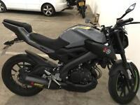 YAMAHA MT 125cc (ABS)