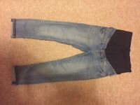 Maternity Jeans and tights size 8