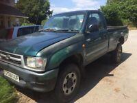 Toyota, HILUX 2.4 TURBO-D4WD, Pick Up, 1999, 2446 (cc)