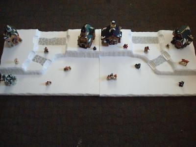 4 FT Christmas Village Display Base Platform C12 Dept 56 Lemax Dickens