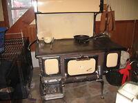 Restored antique cookstove