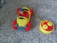 Remote control Noddy car