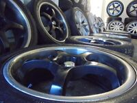 18ich deep dish rss ALLOYS wheels audi vw golf a3 seat beetle leon multifit subaru lexus mr2 tt
