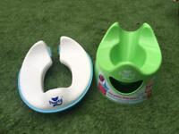 Pourty potty training set