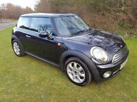 2008 MINI COOPER 1.6 3DR 89K MOT FEB 2018 SERVICE HISTORY H/LEATHER 2 KEYS DRIVES BRILLIANT