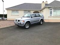 2007 Mitsubishi Shogun Sport 2.5 TD Trojan 5dr +++ excellent condition full leather etc ++++