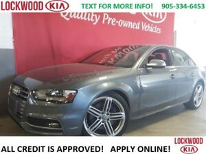 2014 Audi S4 Technik - LEATHER, SUNROOF, NAVIGATION