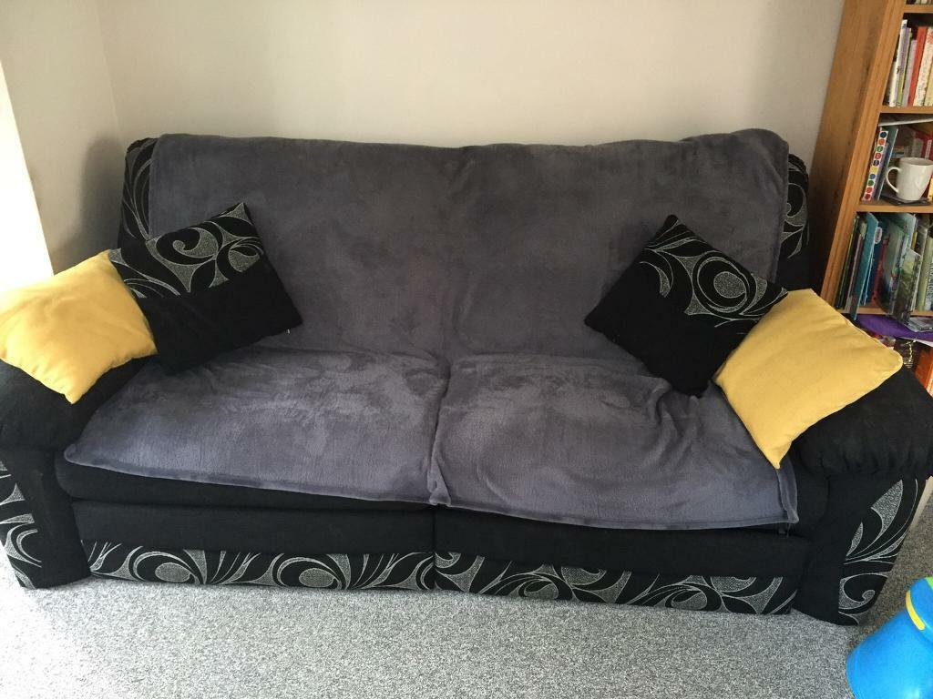 Groovy Dfs Recliner Sofa In Norwich Norfolk Gumtree Bralicious Painted Fabric Chair Ideas Braliciousco