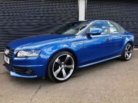 2011 AUDI A4 S LINE BLACK EDITION 2.0 TDI 136 NOT A3 A5 A6 BMW 320D M SPORT VW GOLF PASSAT JETTA