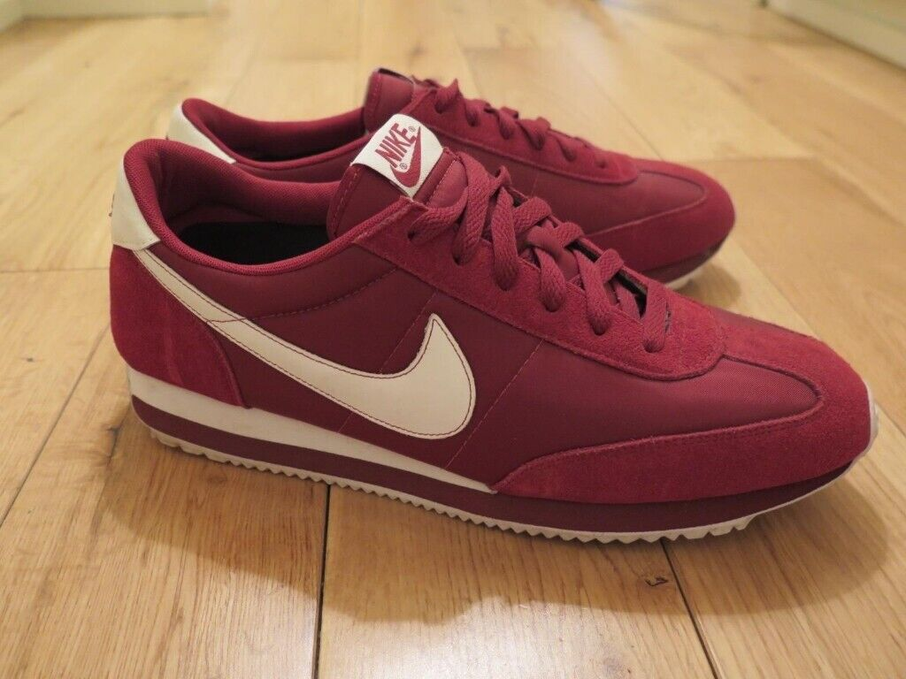 a2b9708d60aa Nike Cortez Nylon Trainers - Red - UK 10.5