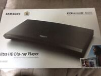 Samsung UBDK8500 UHD Blu-ray player