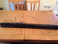 LG 160W Wall Mountable 2.0 Sound Bar - Hardly used - Ferndown