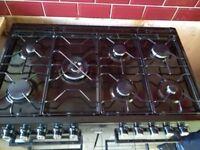 Becko duel fuel range cooker