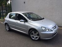 PEUGEOT 307 1.6 HDI 110 SXI = DIESEL = £990 ONLY =