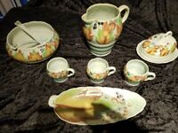 Collection of Clarice Cliff Pottery
