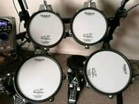 Roland TD 15KV electronic drum set