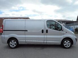 FINANCE VAT!! NO VAT!! Imaculate 2012 Lwb Vauxhall Vivaro Twin side loading Doors with only 59k...