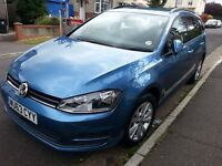 Volkswagon Golf 1.4 Estate MK7 (Nov 2013). Excellent condition. One owner.