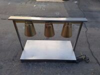 Parry C3LU Electric Carvery Servery Lamp Unit Hot Plate Heat Lamps Commercial