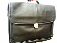 DELL laptop case leather NEVER USED