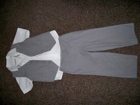 M&S suit for boy aged 2-3 years old.