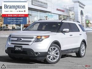 2014 Ford Explorer Limited Clean Carproof|Navigation|Leather|Bac