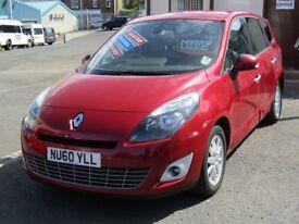 10/60 Renault Grand Scenic Privilege Tom Tom 1.5 DCi 7 Seat MPV, Red**12 Mnths MOT, 3 Mnth Warranty*