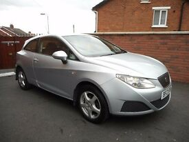 2010 seat ibiza ecomotive{fsh,timing belt done,0 road tax,finance,warranty ava}read history