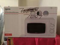 Igenix Brand New White Microwave