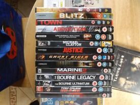 Dvd's Bundle £15 for any 20 Dvd's, over 200 Titles Available