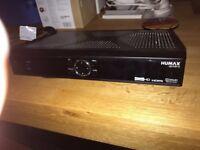 Brand new Humax HD Fox-T2 unit