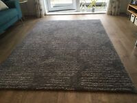 IKEA Lillerod high pile large grey rug for sale