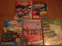 Young boy's dvd collection, Chuggington, Thomas, Fireman Sam etc