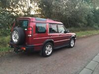 Land Rover Discovery VSiES Auto, metallic burgundy, 2001