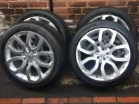 "Genuine 20"" Land Rover Range Rover Evoque Velar Discovery Sport Dynamic Alloy Wheels"