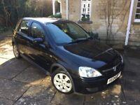 Vauxhall Corsa / BLACK / PRIVATE SALE / 04 Plate / 1199CC / 5 Door Hatchback / Enstone / Oxfordshire