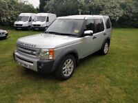 Land Rover Discovery 3 2.7 TD V6 XS 7 Seater,Cambelt Done,Serviced this year,Harmon Kardon,Bluetooth